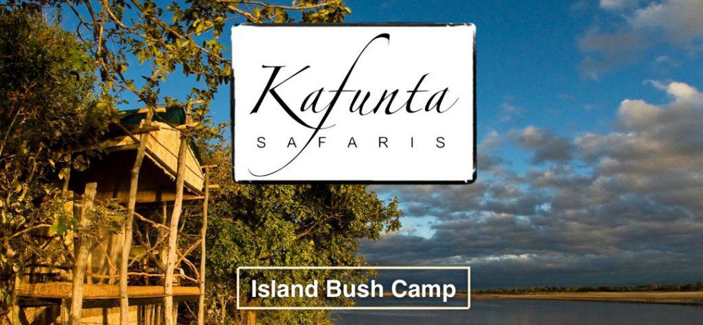 Kafunta Safaris Island Bush Camp brochure design