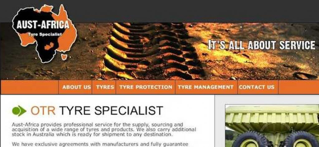 Aust-Africa web design