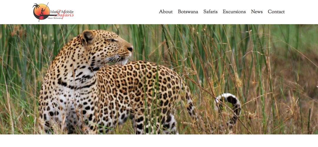 Island Mobile Safaris web design