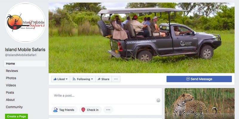 Island Mobile Safaris Facebook banner