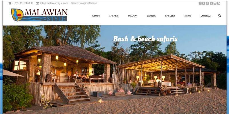 Malawian Style website banner
