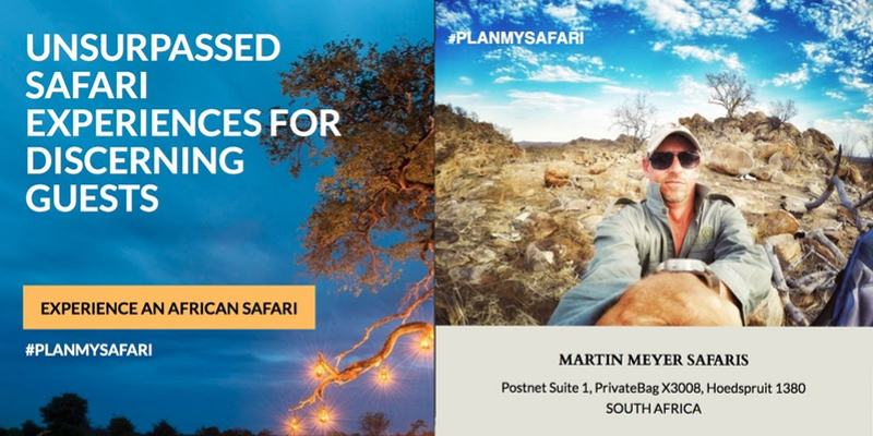 Martin Meyer Safaris brochure cover