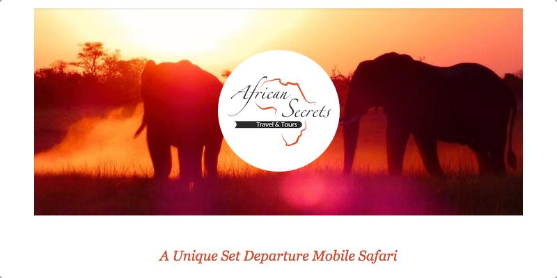 African Secrets tour set departure email campaign